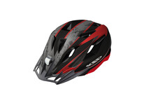 KED Street Junior Two Casque Enfant rouge/noir